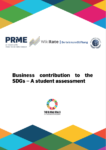 Business Contribution to the SDGs - A Student Assessment Report