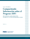 A Basic Guide to the Sharing Information on Progress (Spanish)