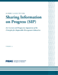 A Basic Guide to the Sharing Information on Progress