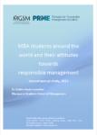 PRME MGSM Study: Student Attitudes Toward Responsible Management Education (2013)