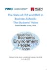 4th PRME Macquarie Student Survey